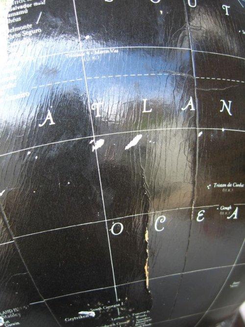 other photographs.1: 美品 ブラックオーシャングローブ 黒い地球儀 縦横360度回転可能 リプルーグル社製 アンティーク ビンテージ