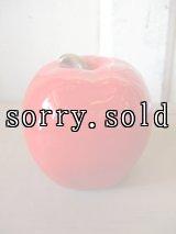 リンゴ apple アップル 卓上オブジェ 陶器 アンティーク ビンテージ