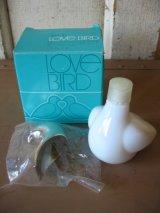 AVON エーボン エイボン ミルクガラス ボトル 瓶 ラブバード LOVE BIRD 箱付き アンティーク ビンテージ