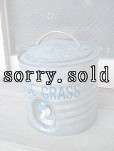 メタルジャグ ジャグ ブリキ 2GAL BLUE GRASS アウトドア アンティーク ビンテージ