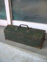 1940'S ツールボックス EJMcALEER&CO INC メタルボックス 工具箱 インダストリアル アンティーク ビンテージ