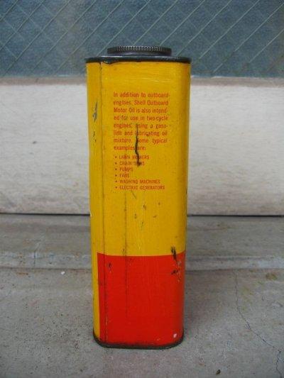 画像2: ティン缶 SHELL シェル オイル缶 アンティーク ビンテージ