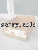 ウッドボックス 野菜箱 木箱 EL REY メキシコ BOX アドバタイジング アンティーク ビンテージ