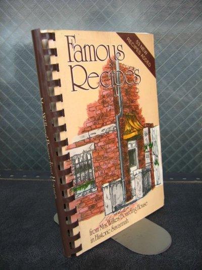 画像1: 洋書 Famous Recipes レシピ本 古書 アンティーク ビンテージ