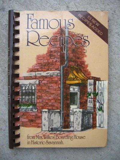 画像2: 洋書 Famous Recipes レシピ本 古書 アンティーク ビンテージ