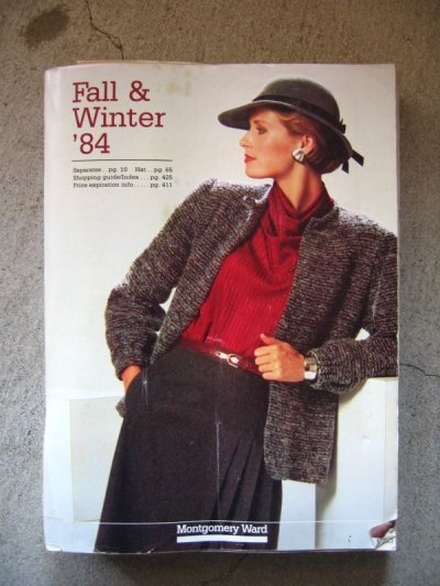 画像2: 80年代 エイティーズ モンゴメリーワード カタログ Montgomery Ward 1984 古書 アンティーク ビンテージ