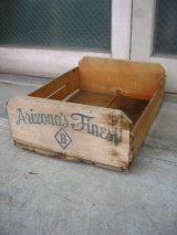 ウッドボックス ベジタブル ボックス 木箱 Arizona's Finest ストレージBOX アドバタイジング アンティーク ビンテージ