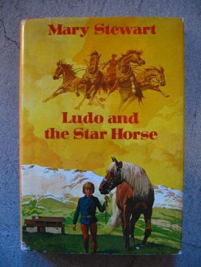 画像2: 1970's 洋書 Mary Stewart Ludo and the Star Horse 1974 古書 アンティーク ビンテージ
