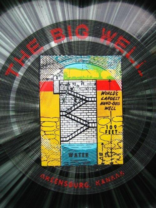 other photographs.2: トレイ お盆 サイケデリック THE BIG WELL プラステッィク 柄 アンティーク ビンテージ