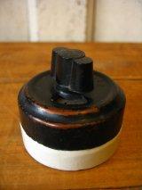 アメリカ製 GE GENERAL ELECTRIC サーフェイススイッチ ロータリースイッチ ターンスイッチ 真鍮 ポーセリン アンティーク ビンテージ