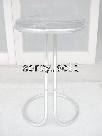 画像3: 30'S 40'S    アールデコ    チューブラーZスツール    Vintage stool - Z stool - tubular chrome - Troy Sunshade Co - Gilbert Rohde アンティーク ビンテージ