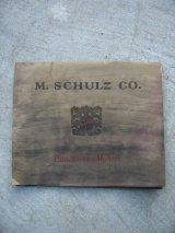 M.SCHULZ CO. カタログ Pianoforte Makers ピアノ 1927年 アンティーク ビンテージ