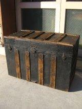 トランク 大型 スーツケース キャスター付き シャビー 店舗什器に アンティーク ビンテージ