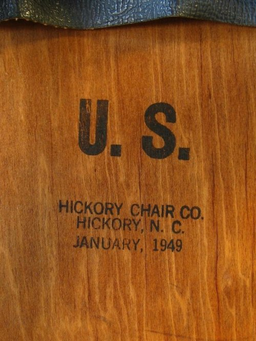other photographs.3: 1940'S 50'S U.S. ヒッコリーチェアカンパニー HICKORY CHAIR COMPANY ダイニングウッドチェア 椅子 アンティーク ビンテージ