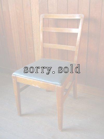 画像1: 1940'S 50'S U.S. ヒッコリーチェアカンパニー HICKORY CHAIR COMPANY ダイニングウッドチェア 椅子 アンティーク ビンテージ