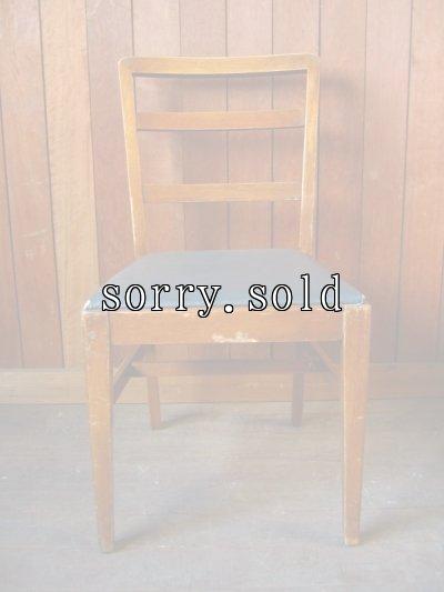 画像2: 1940'S 50'S U.S. ヒッコリーチェアカンパニー HICKORY CHAIR COMPANY ダイニングウッドチェア 椅子 アンティーク ビンテージ