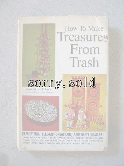 画像2: 1970's ビンテージDIY本 2冊set 洋書 Treasuree From Trash HOME REPAIRS MAINTENANCE 古書 1971 72 アンティーク ビンテージ
