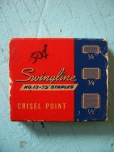 ステイプラー SWINGLINE SPEED PRODUCTS COMPANY 紙箱 アドバタイジング アンティーク ビンテージ