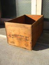ウッドボックス フルーツクレート 木箱 B.C. FRUIT ストレージBOX アドバタイジング アンティーク ビンテージ