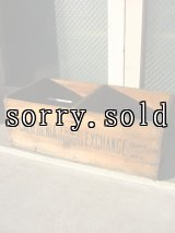 19世紀 1880'S 90'S ウッドボックス 木箱 CALIFORNIA ストレージBOX アドバタイジング アンティーク ビンテージ