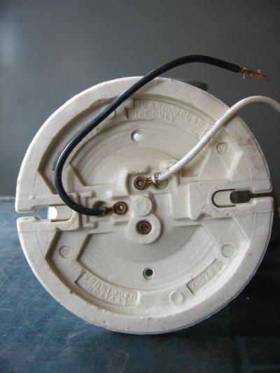 画像4: 1910'S 20'S アーリーセンチュリー mercury glass シーリングライト pittsburgh permaflector ミラーガラス X-Ray シェード 1灯 ポーセリン レセプタクル アンティーク ビンテージ