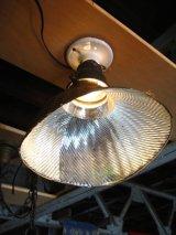 1910'S 20'S アーリーセンチュリー mercury glass X-Ray SHADE シーリングライト ミラーガラスシェード 1灯 ポーセリン レセプタクル アンティーク ビンテージ