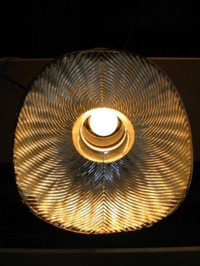 画像2: 1910'S 20'S アーリーセンチュリー mercury glass X-Ray SHADE シーリングライト ミラーガラスシェード 1灯 ポーセリン レセプタクル アンティーク ビンテージ