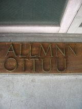 """1930'S 40'S ブロンズ アルファベットレター 大 """" A L M N O T U """" 銅 シャビーシック アンティーク ビンテージ"""