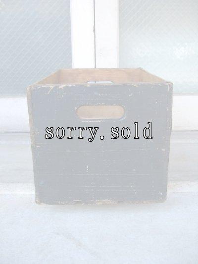 画像2: ボトルクレート SUN-DROP GOLDEN COLA ボトルケース ウッドボックス 木箱 アドバタイジング アンティーク ビンテージ