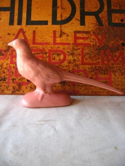画像2: 60'S バード bird オブジェ Haeger 鳥 陶器 folkart フォークアート アンティーク ビンテージ