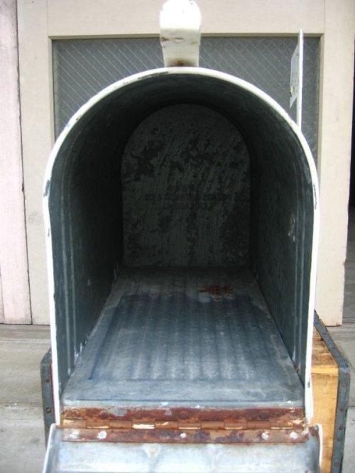 other photographs.3: 特大 U.S.MAIL BOX アメリカ ポスト メールボックス メタル 特大 アンティーク ビンテージ