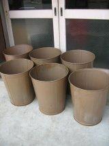 ダストボックス trash can トラッシュカン ローソン UNITED LAWSON USA ゴミ箱 大 スチール アンティーク ビンテージ