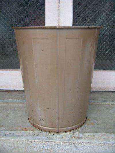 画像3: ダストボックス trash can トラッシュカン ローソン UNITED LAWSON USA ゴミ箱 大 スチール アンティーク ビンテージ