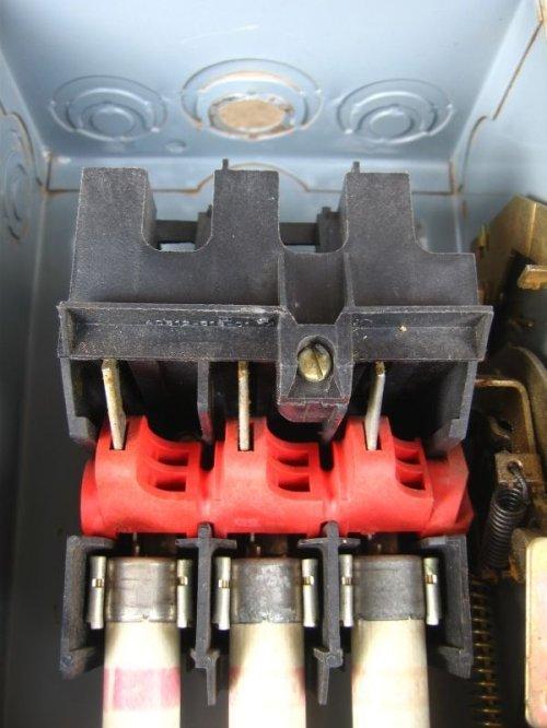 other photographs.2: ブレーカーボックス SAFETY SWITCH ブレーカースイッチBOX アイアンボックス インダストリアル アンティーク ビンテージ