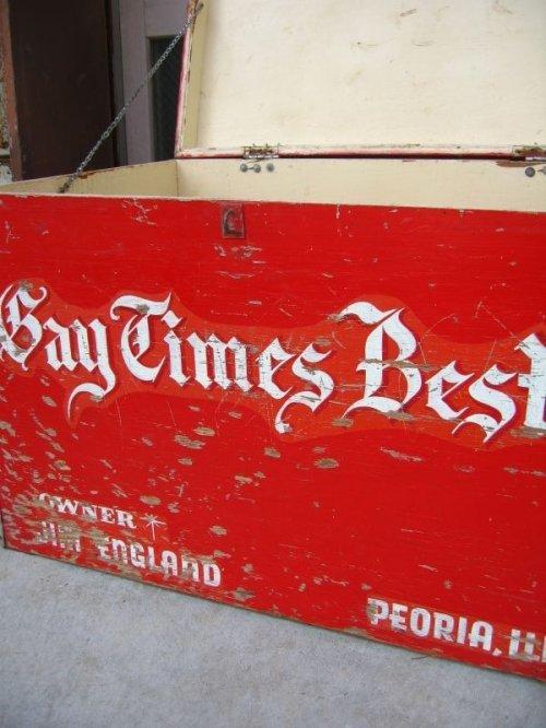 other photographs.2: 1950'S ストレージBOX ストレージユニット Bay Times Best 超大型 ウッドボックス ツールボックス 木箱 アンティーク ビンテージ