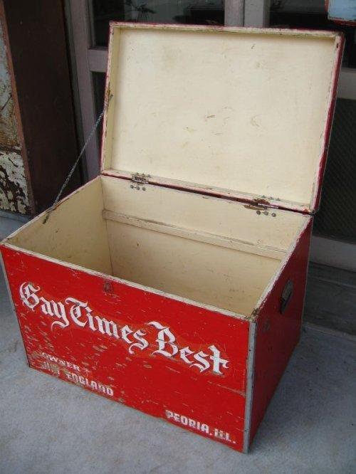 other photographs.1: 1950'S ストレージBOX ストレージユニット Bay Times Best 超大型 ウッドボックス ツールボックス 木箱 アンティーク ビンテージ