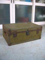 トランク 中型 スーツケース インナートレイ 店舗什器に アンティーク ビンテージ