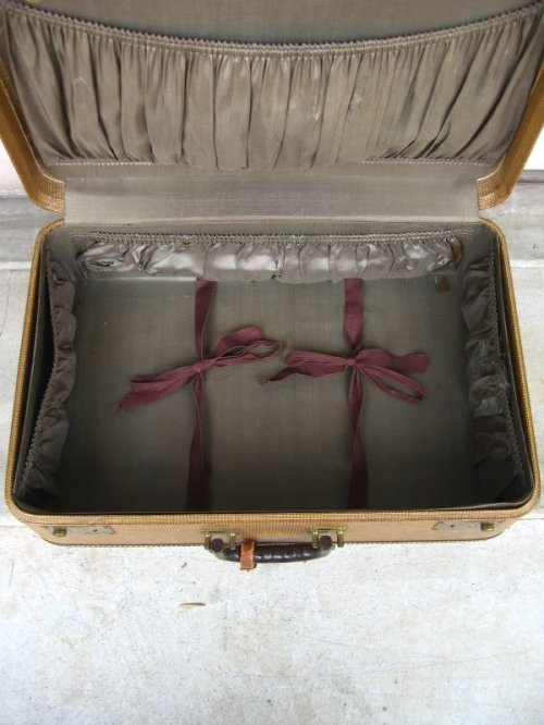 other photographs.3: 1940'S トランク american tourister luggage スーツケース クロコダイル ミントコンディション 店舗什器に アンティーク ビンテージ