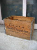 ボトルクレート ボトルケース Gamble-Skogmo ウッドボックス 木箱 アドバタイジング アンティーク ビンテージ