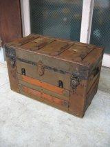 トランク 大型 スーツケース インナートレイ 店舗什器に アンティーク ビンテージ