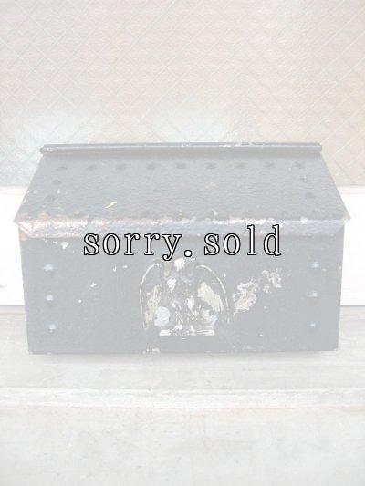 画像1: U.S.MAIL BOX EAGLE アメリカ ポスト メールボックス 壁掛け イーグル 装飾 メタル アンティーク ビンテージ