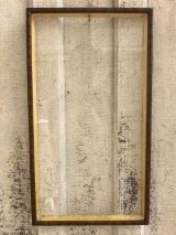 1950's 60's    2pcs/set    トロピカル    tropic    tiki   beach bar    hawaii    polynesian    bamboo  アンティーク フレーム ウッド 木製フレーム ガラス 額縁 ビンテージ