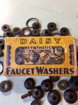 1920'S  30'S    SCHACHT RUBBER MFG.CO. DAISY FAUCET WASHERS ゴムワッシャー 紙箱 アドバタイジング アンティーク ビンテージ