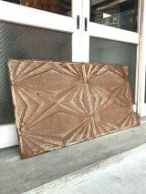 アンティーク ティンタイル ティンパネル シーリングティン tin tile 大 天井材 外壁材 装飾 1900年頃 ビンテージ