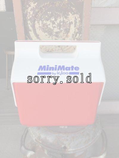 画像1: 90'S イグルー igloo ミニメイト minimate ミニクーラー クーラーbox ビンテージアウトドア