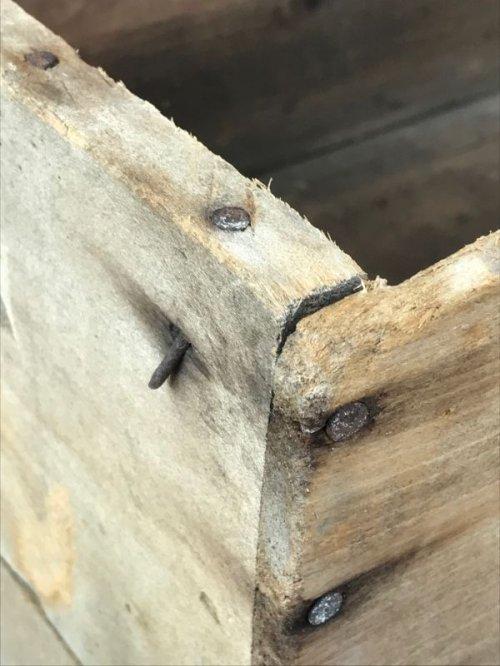 other photographs.2: ウッドボックス GOOD LUCK MARGARINE 木箱 ストレージボックス アンティーク ビンテージ