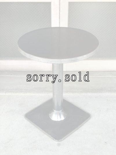 画像1: 1910'S 20'S BAR TABLE バーテーブル ラウンドテーブル クロームテーブル アンティーク ビンテージ