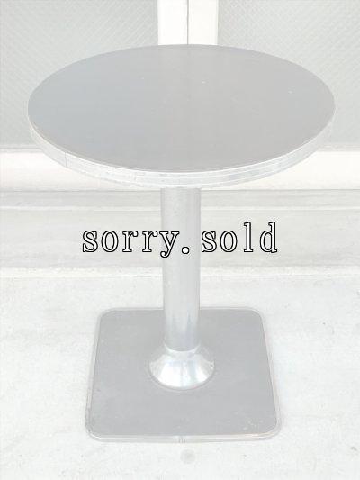 画像2: 1910'S 20'S BAR TABLE バーテーブル ラウンドテーブル クロームテーブル アンティーク ビンテージ