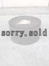 ティン缶 蓋付き 大型 ブリキ メタル ショップディスプレイ トラッシュカン アドバタイジング アンティーク ビンテージ