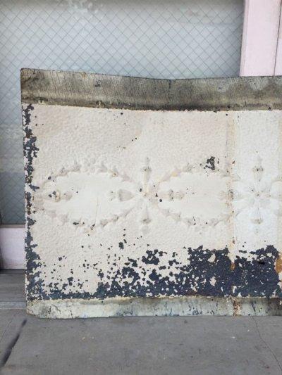 画像2: ティンタイル ティンパネル シーリングティン ビクトリアン ファンシーtin tile 天井材 外壁材 装飾 1900年頃 アンティーク ビンテージ